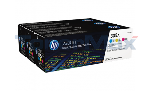 HP 305A TONER CARTRIDGES CMY (CF370AM)