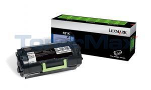LEXMARK MX810 MX811 MX812 TONER CTG RP 45K (62D1X00)