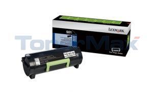 LEXMARK 501 TONER CARTRIDGE RP 1.5K (50F1000)