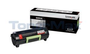 LEXMARK MS310 TONER CARTRIDGE 5K (50F0HA0)