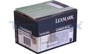 LEXMARK C544 TONER CART BLACK XHY RP TAA (C544X4KG)