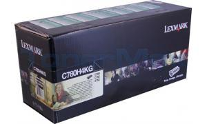 LEXMARK C780 PRINT CARTRIDGE BLACK RP TAA 10K (C780H4KG)