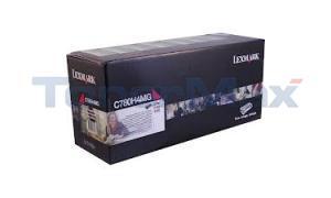 LEXMARK C780 PRINT CARTRIDGE MAGENTA RP TAA 10K (C780H4MG)