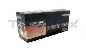 LEXMARK E360 GOV TONER CARTRIDGE RP 9K (E360H41G)