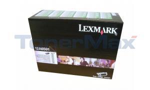 LEXMARK OPTRA S1250 TONER CART BLACK HY RP TAA (12A6591)