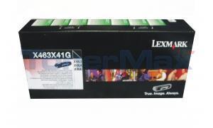 LEXMARK X463 TONER CARTRIDGE BLACK XHY RP TAA (X463X41G)