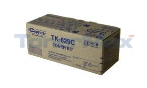 COPYSTAR CS C2520 TONER CYAN (TK-829C)