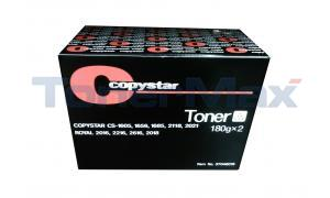 COPYSTAR CS-1605 COPIER TONER CARTRIDGE BLACK (37046015)