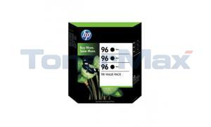 HP NO 96 INK CARTRIGES BLACK VALUE PACK (C9345BN)