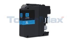 Compatible for BROTHER MFC-J4410DW INK CARTRIDGE CYAN HY (LC-103C)