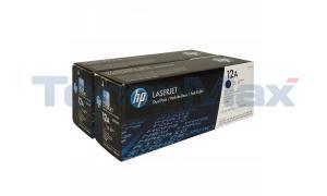 HP LASERJET 1012 3015 TONER BLACK (DUAL PACK) (Q2612AD)
