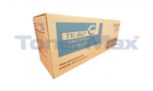 KYOCERA MITA TASKALFA 300CI 250CI TONER CYAN (TK-867C)