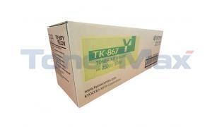 KYOCERA MITA TASKALFA 300CI 250CI TONER YELLOW (TK-867Y)