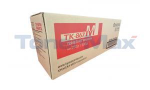 KYOCERA MITA TASKALFA 300CI 250CI TONER MAGENTA (TK-867M)