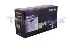 LEXMARK T430 HY RP PRINT CART BLACK GSA (12A7775)