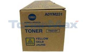 KONICA MINOLTA BIZHUB PRO C500 TONER YELLOW (TN-510Y)