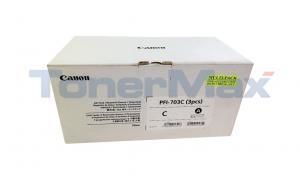 CANON PFI-703C INK TANK DYE CYAN (2964B003)