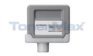 Compatible for CANON PFI-302PGY PHOTO GRAY INK TANK 330 ML (2218B001)