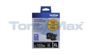 BROTHER MFC-J4410DW INK CTG BLACK HY DOUBLE PACK (LC-1032PKS)