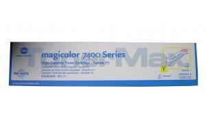 KONICA MINOLTA MAGICOLOR 7450 TONER YELLOW 12K (TYPE AM) (8938614)