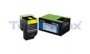 LEXMARK CS510 RP TONER CART YELLOW 4K (70C1XY0)