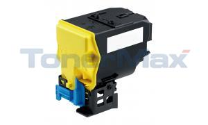 Compatible for KONICA MINOLTA MC 4750 TONER CARTRIDGE YELLOW HY (A0X5250)