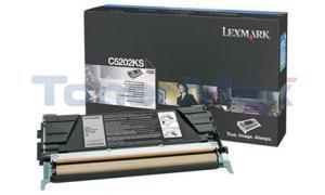 LEXMARK C520 C530 RP TONER CART BLACK (C5202KS)
