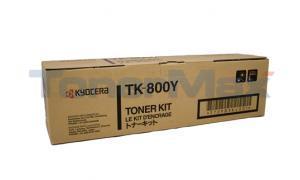 KYOCERA MITA FS-C8008N TONER YELLOW (TK-800Y)