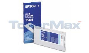 EPSON STYLUS PRO 10000 INK CTG LIGHT CYAN 500ML (T504011)