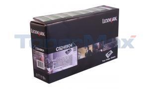 LEXMARK C524 RP TONER CART BLACK HY GSA/TAA (C5246KH)