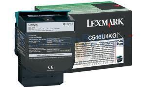 LEXMARK C546 TONER CART BLACK XHY RP TAA (C546U4KG)