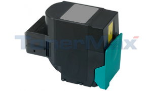 Compatible for LEXMARK C544 X544 TONER CARTRIDGE YELLOW RP 4K (C544X1YG)
