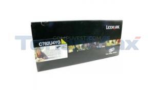 LEXMARK C782 XL PRINT CART YELLOW XHY RP TAA (C782U4YG)