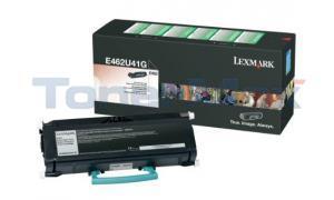 LEXMARK E462 TONER CART BLACK XHY RP TAA (E462U41G)