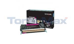 LEXMARK X746 RP TONER CART MAGENTA 7K TAA (X746A4MG)
