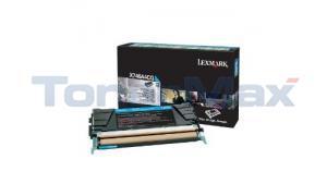 LEXMARK X746 RP TONER CARTRIDGE CYAN 7K TAA (X746A4CG)
