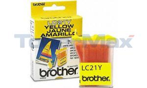 BROTHER 3100 5200 INK YELLOW (LC21Y)