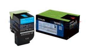 LEXMARK CS410 RP TONER CARTRIDGE CYAN 3K (70C1HC0)