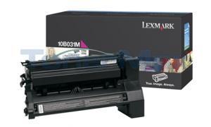 LEXMARK C750 PRINT CART MAGENTA (10B031M)