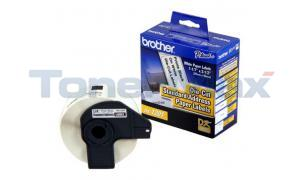 BROTHER P-TOUCH PAPER ADDRESS LABELS 1-1/7IN X 3-1/2IN (DK1201)