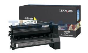 LEXMARK C750 PRINT CART YELLOW (10B031Y)