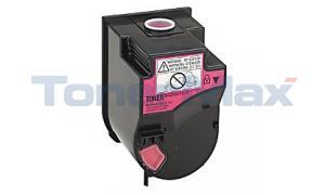 Compatible for KONICA MINOLTA BIZHUB C350 TONER MAGENTA (TN-310M)