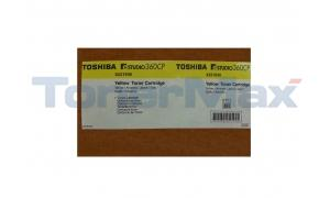 TOSHIBA E-STUDIO 360CP TONER CARTRIDGE YELLOW (X221939)