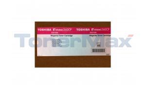 TOSHIBA E-STUDIO 360CP TONER CARTRIDGE MAGENTA (X221936)