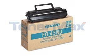 SHARP FO-4500 LASER TONER CARTRIDGE BLACK (FO-45ND)