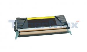 Compatible for LEXMARK C746 RP TONER CART YELLOW 7K TAA (C746A4YG)