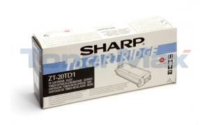 SHARP Z-20 TONER/DEVELOPER BLACK (ZT-20TD1)