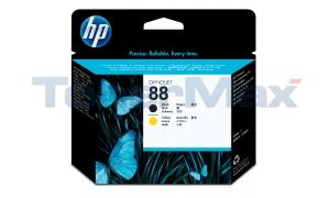 HP NO 88 PRINTHEAD BLACK AND YELLOW (C9381A)