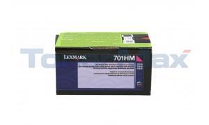 LEXMARK CS410 TONER CARTRIDGE MAGENTA RP 3K (70C1HM0)