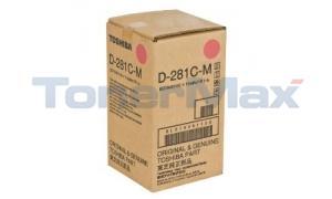 TOSHIBA D-281C-M DEVELOPER MAGENTA (D-281C-M)